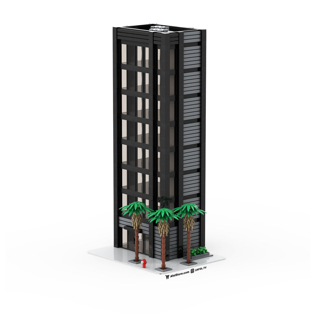 LEGO Downtown City Stackable Tower Instructions