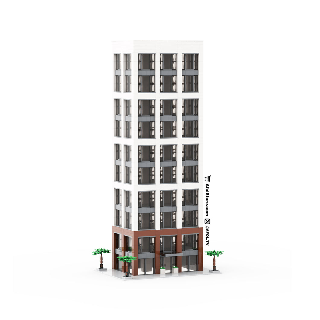 LEGO Greenwood Heights Stackable Tower Instructions