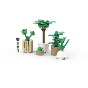 LEGO Modern House Plant Instructions