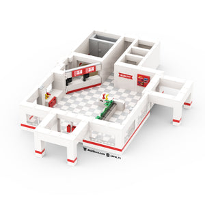 LEGO In-N-Out Drive Thru Instructions