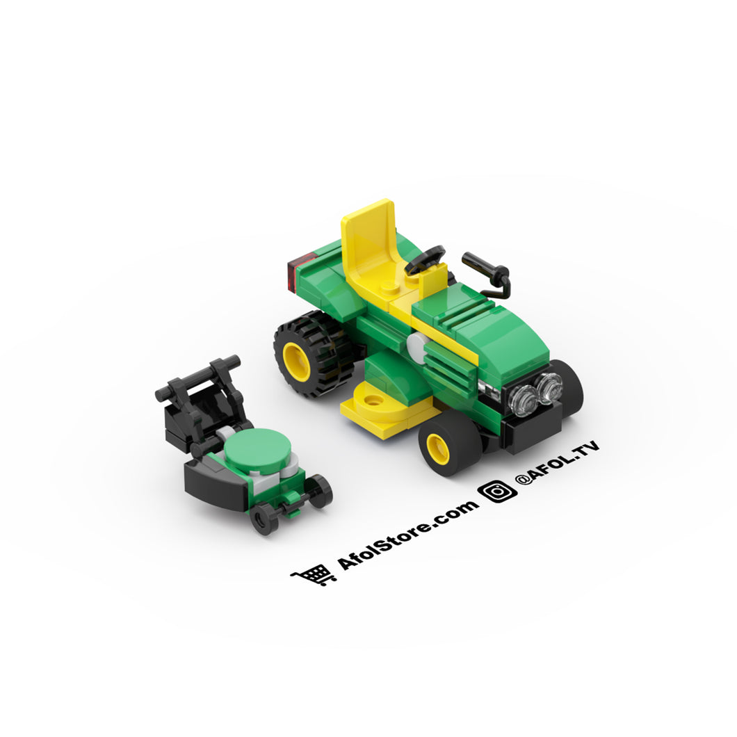 LEGO Lawn Mower Instructions (2 Types!)