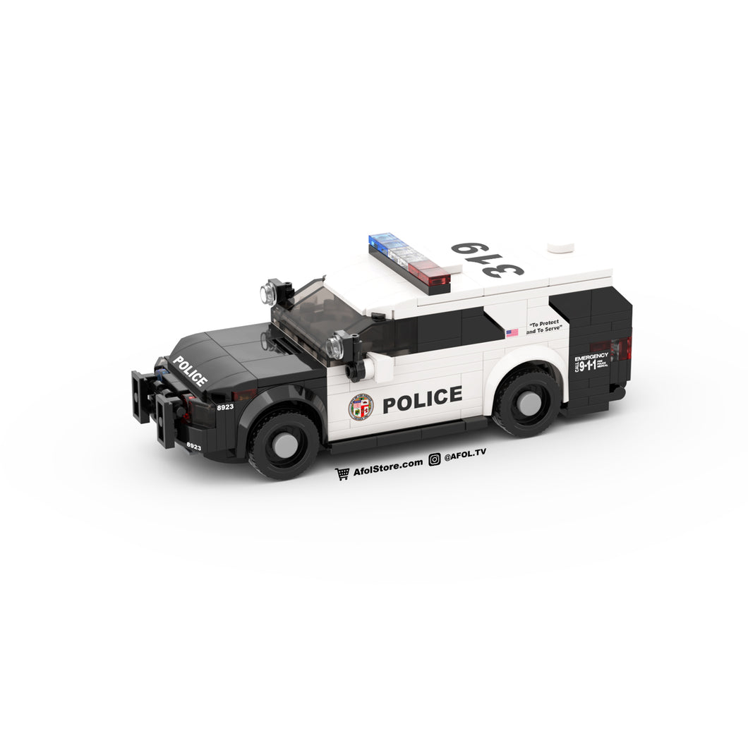 LEGO LAPD Police SUV Instructions