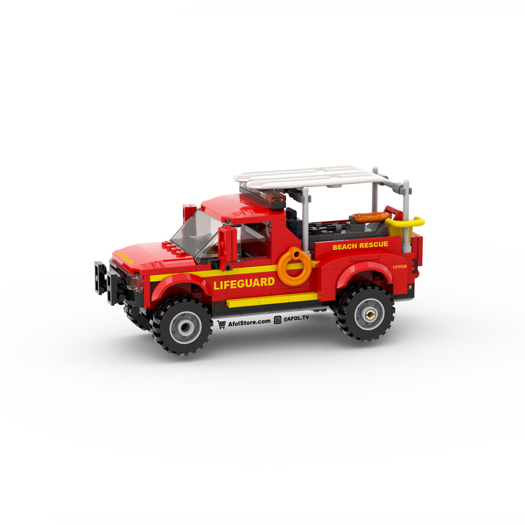 LEGO Lifeguard Truck & Rescue Jet Skis Instructions