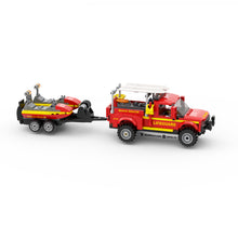 Load image into Gallery viewer, LEGO Lifeguard Truck & Rescue Jet Skis Instructions