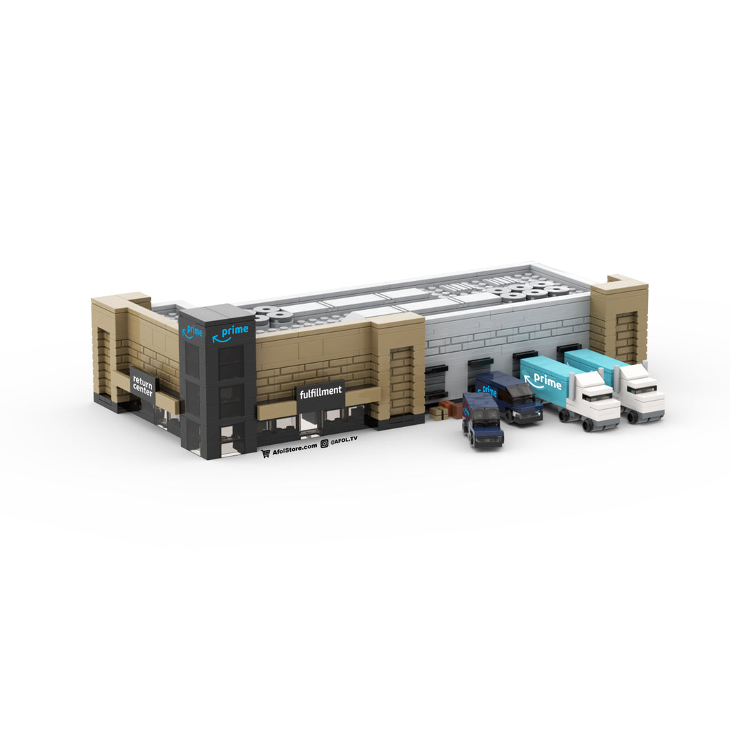 LEGO Micro Amazon Fulfillment & Returns Center Instructions