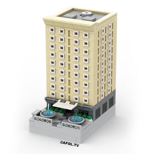 Load image into Gallery viewer, LEGO Micro Historic Apartment Building Instructions