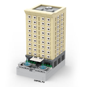 LEGO Micro Historic Apartment Building Instructions