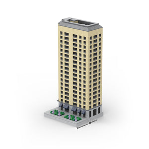 LEGO Micro (Modular) Historic Apartment Tower Instructions