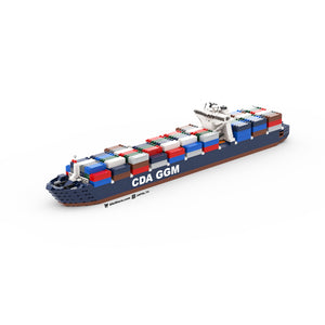 LEGO Micro CMA CGM Container Ship Instructions