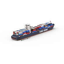 Load image into Gallery viewer, LEGO Micro CMA CGM Container Ship Instructions