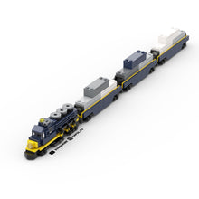 Load image into Gallery viewer, LEGO Micro Shipping Container Train Car Instructions