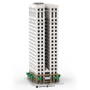 LEGO Micro Chrysler House Building Instructions