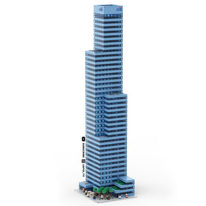LEGO Micro Citi Bank Tower Instructions