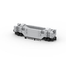 Load image into Gallery viewer, LEGO Micro Coal Train Car Instructions