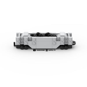 LEGO Micro Coal Train Car Instructions