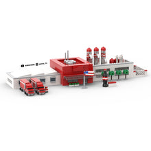 Load image into Gallery viewer, LEGO Micro Coca Cola Factory Instructions