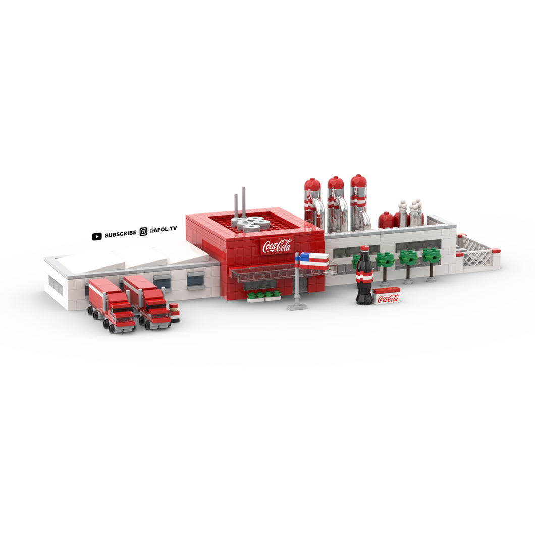 LEGO Micro Coca Cola Factory Instructions