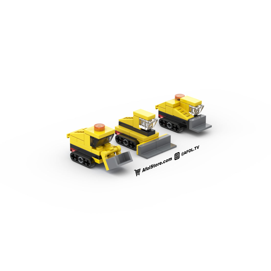 LEGO Micro Construction Bulldozers Instructions