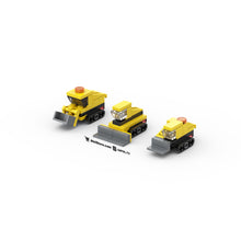 Load image into Gallery viewer, LEGO Micro Construction Bulldozers Instructions