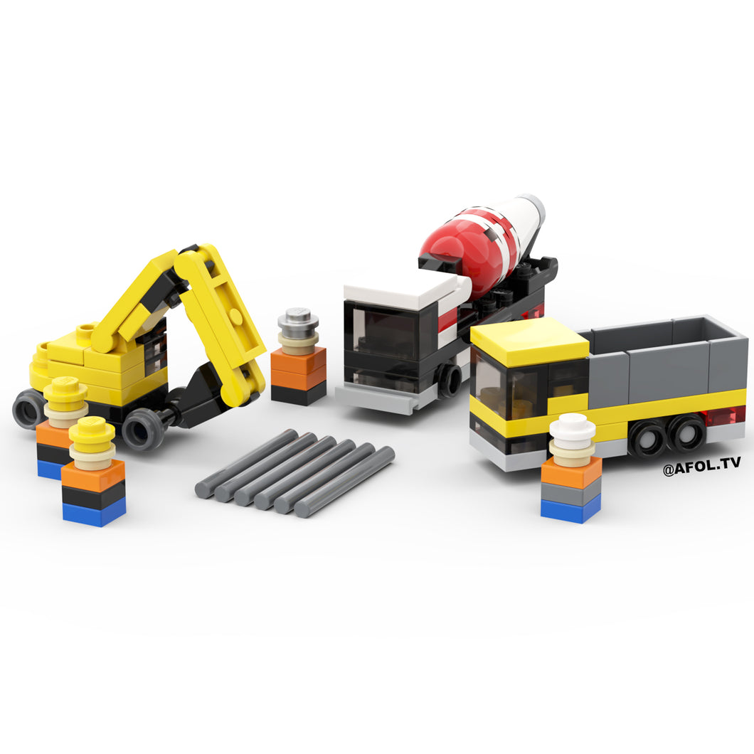LEGO Micro Construction Site Instructions