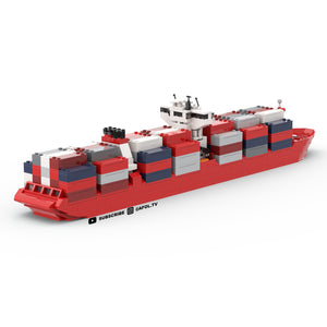 LEGO Micro Container Ship Instructions