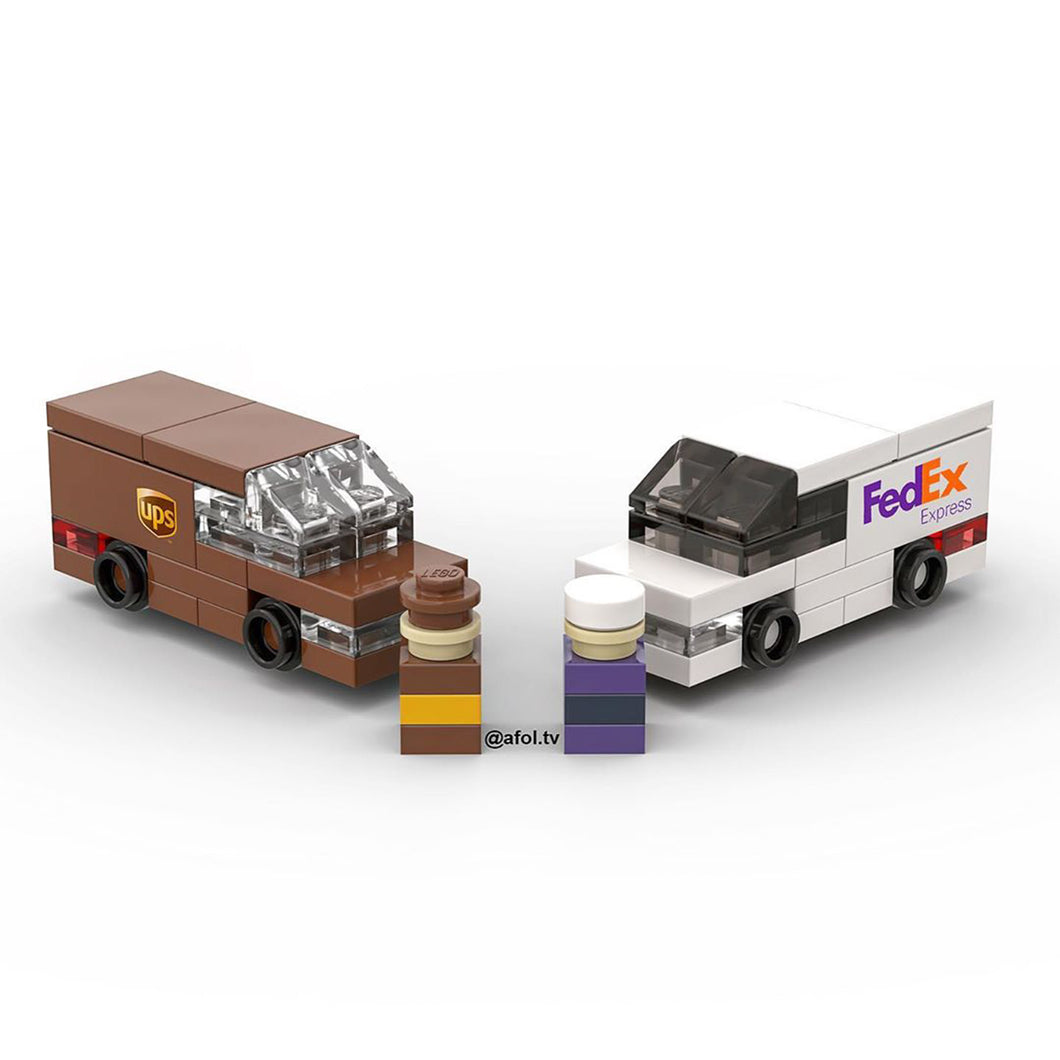 LEGO Micro Delivery Vehicles Instructions