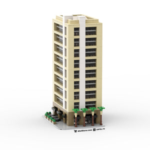 LEGO Micro Downtown Lofts (Tan) Instructions