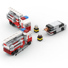 Load image into Gallery viewer, LEGO Micro Fire Truck Instructions