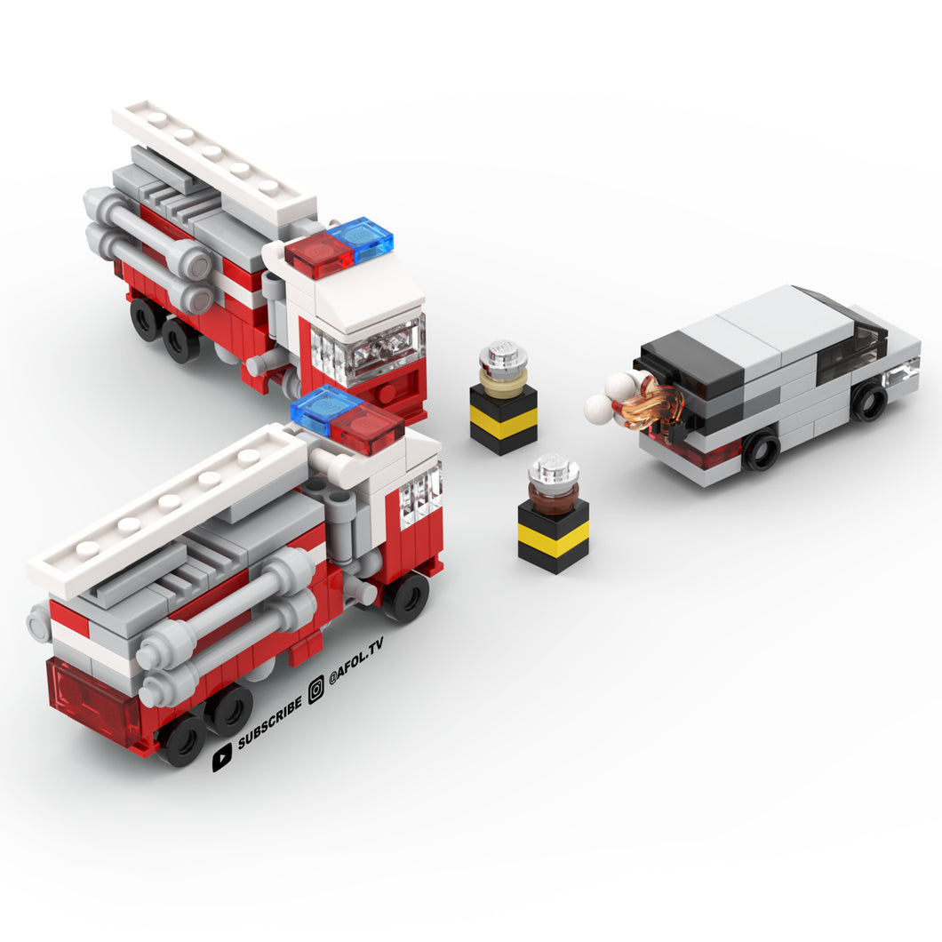 LEGO Micro Fire Truck Instructions