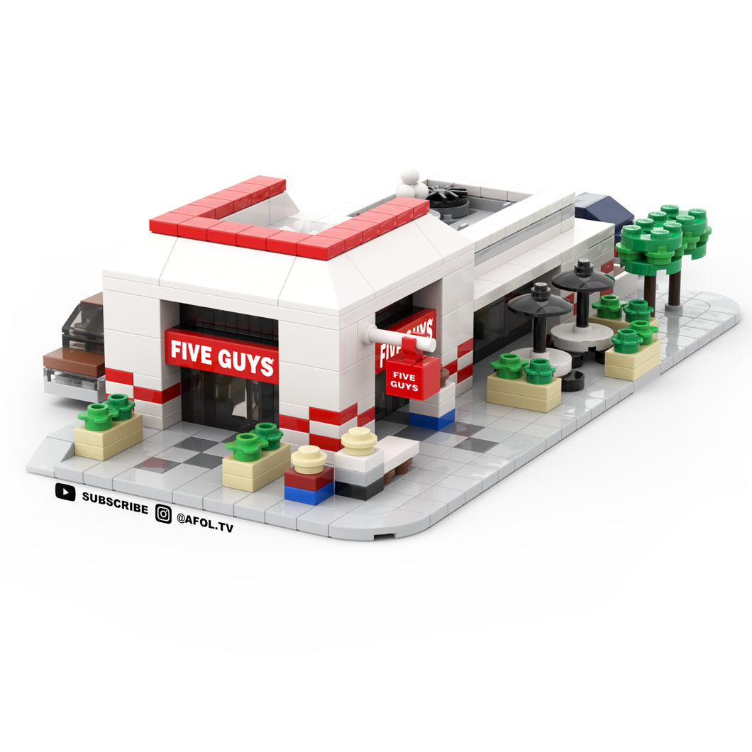LEGO Micro Five Guys Burgers & Fries Instructions