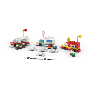 LEGO Micro Food Truck Lineup Instructions