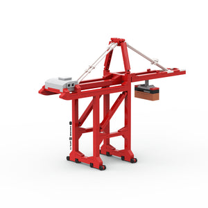 LEGO Micro Container Ship Gantry Crane Instructions