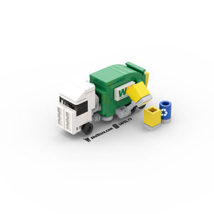 LEGO Micro Garbage Truck Instructions