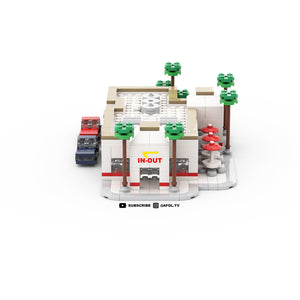 LEGO Micro In-N-Out Drive Thru Instructions