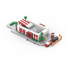Load image into Gallery viewer, LEGO Micro KFC Drive Thru Instructions