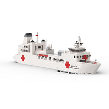 Load image into Gallery viewer, LEGO Micro US Navy Mercy Hospital Ship Instructions