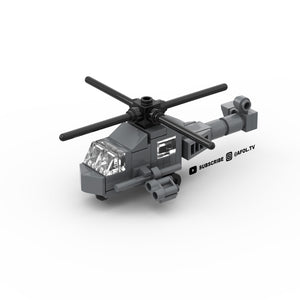 LEGO Micro Military Helicopter Instructions