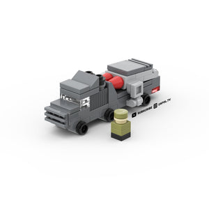 LEGO Micro Military Missile Truck Instructions