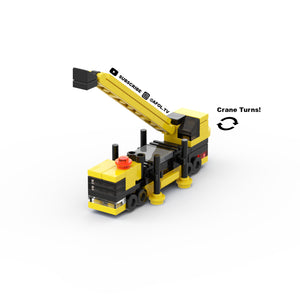 LEGO Micro Mobile Crane Instructions