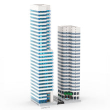 Load image into Gallery viewer, LEGO Micro Modern Downtown Skyscraper Instructions