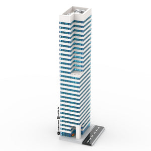 LEGO Micro Modern Downtown Skyscraper Instructions