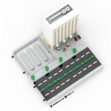Load image into Gallery viewer, LEGO Micro T Road Section (4 Lanes) Instructions
