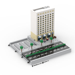 LEGO Micro (Modular) Historic Building Instructions