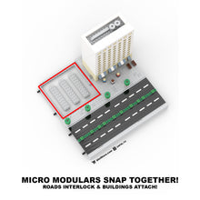 Load image into Gallery viewer, LEGO Micro (Modular) 1960s Office Building & Pizza Shop Instructions