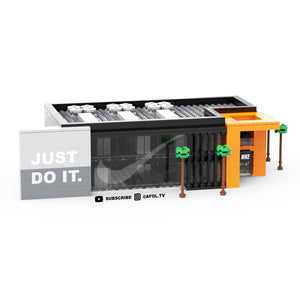 LEGO Micro NIKE Flagship Store Instructions