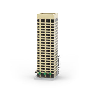 LEGO Micro (Modular) Newport Executive Tower Instructions
