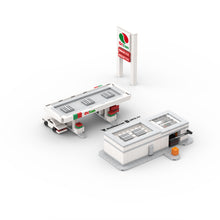 Load image into Gallery viewer, LEGO Micro Octan Gas Station & Carwash Instructions