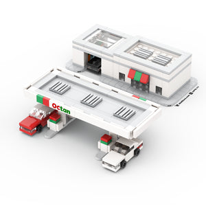 LEGO Micro Octan Gas Station & Carwash Instructions