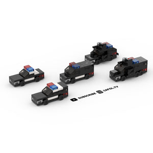 LEGO Micro Police Instructions (Master Set)