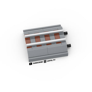 LEGO Micro Premium Grey Train Track Instructions
